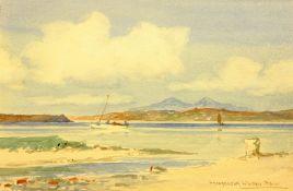Peter MacGregor Wilson (Scottish 1856-1928): Coastal Scene