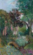 H W (British mid 20th century): Cottage Garden