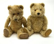 Chiltern Ting-a-Ling teddy bear c1950s with blond mohair body