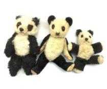 Two 1930s Chiltern panda bears