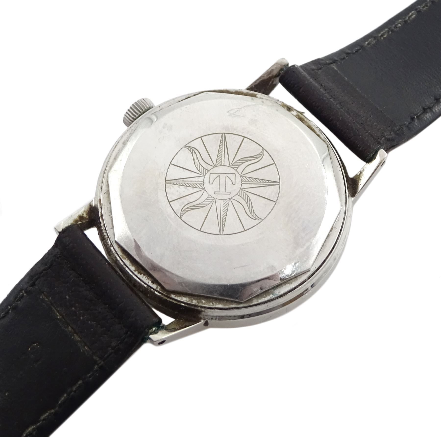 Tissot Automatic Seastar gentleman's stainless steel wristwatch No. 43540 - Image 3 of 3