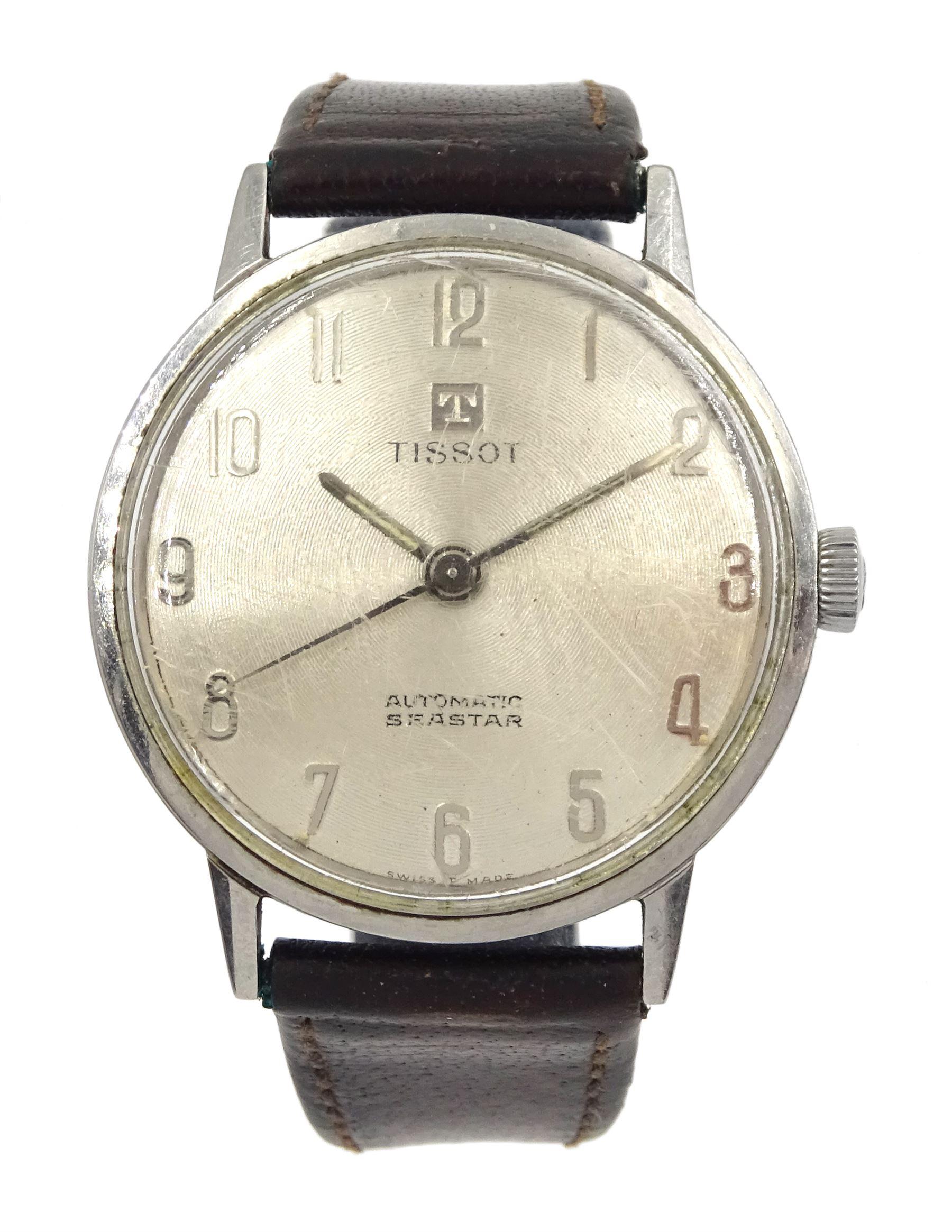 Tissot Automatic Seastar gentleman's stainless steel wristwatch No. 43540