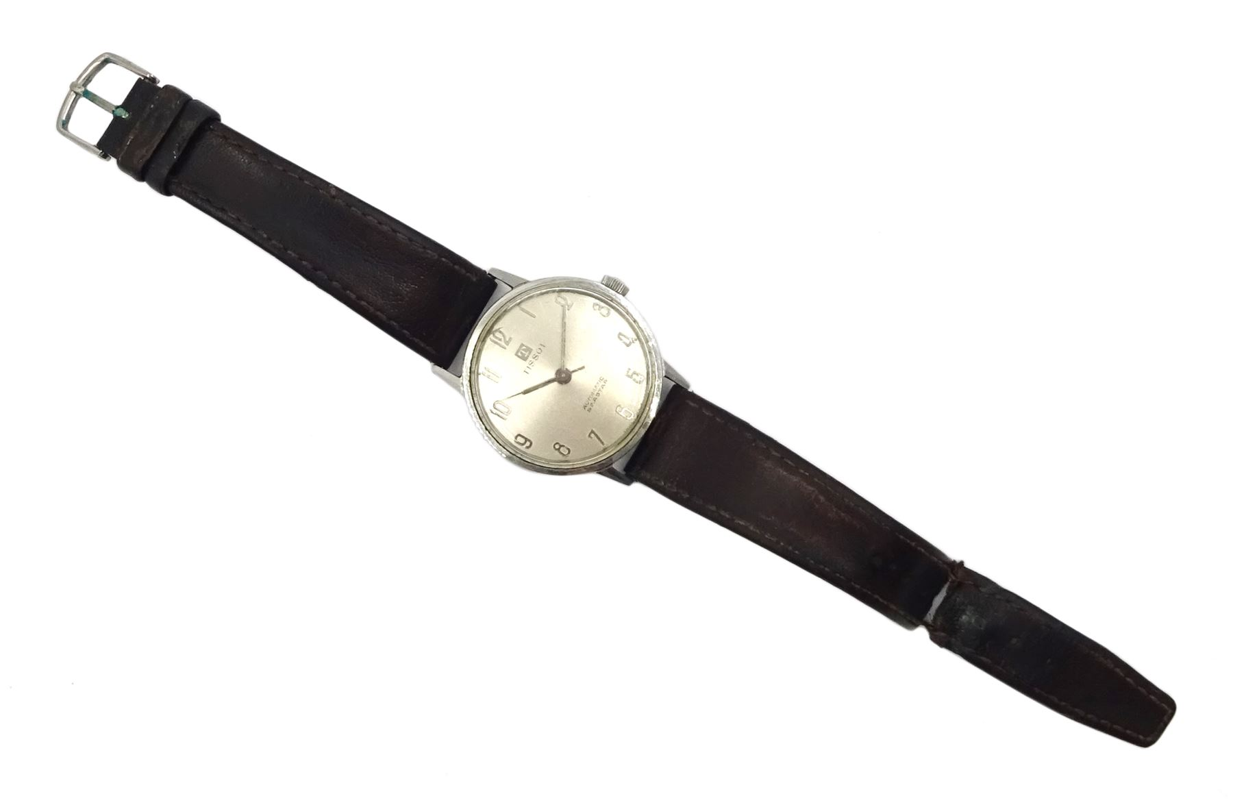 Tissot Automatic Seastar gentleman's stainless steel wristwatch No. 43540 - Image 2 of 3
