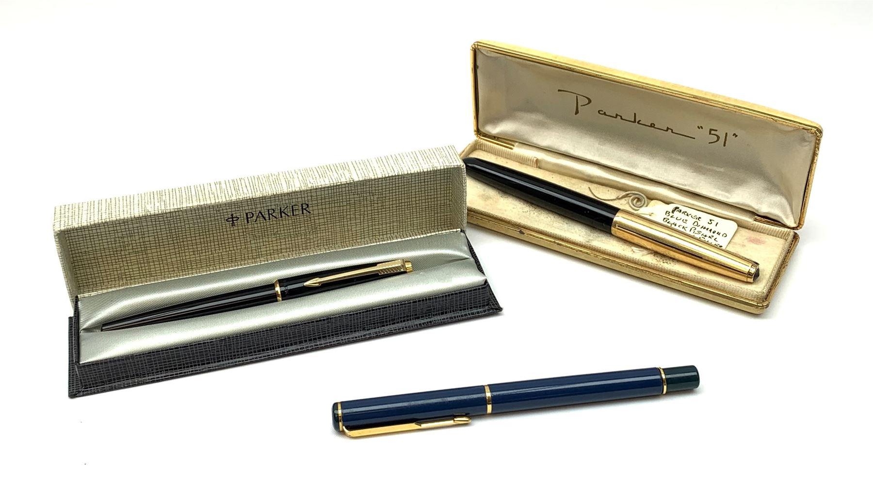 A Parker 51 fountain pen