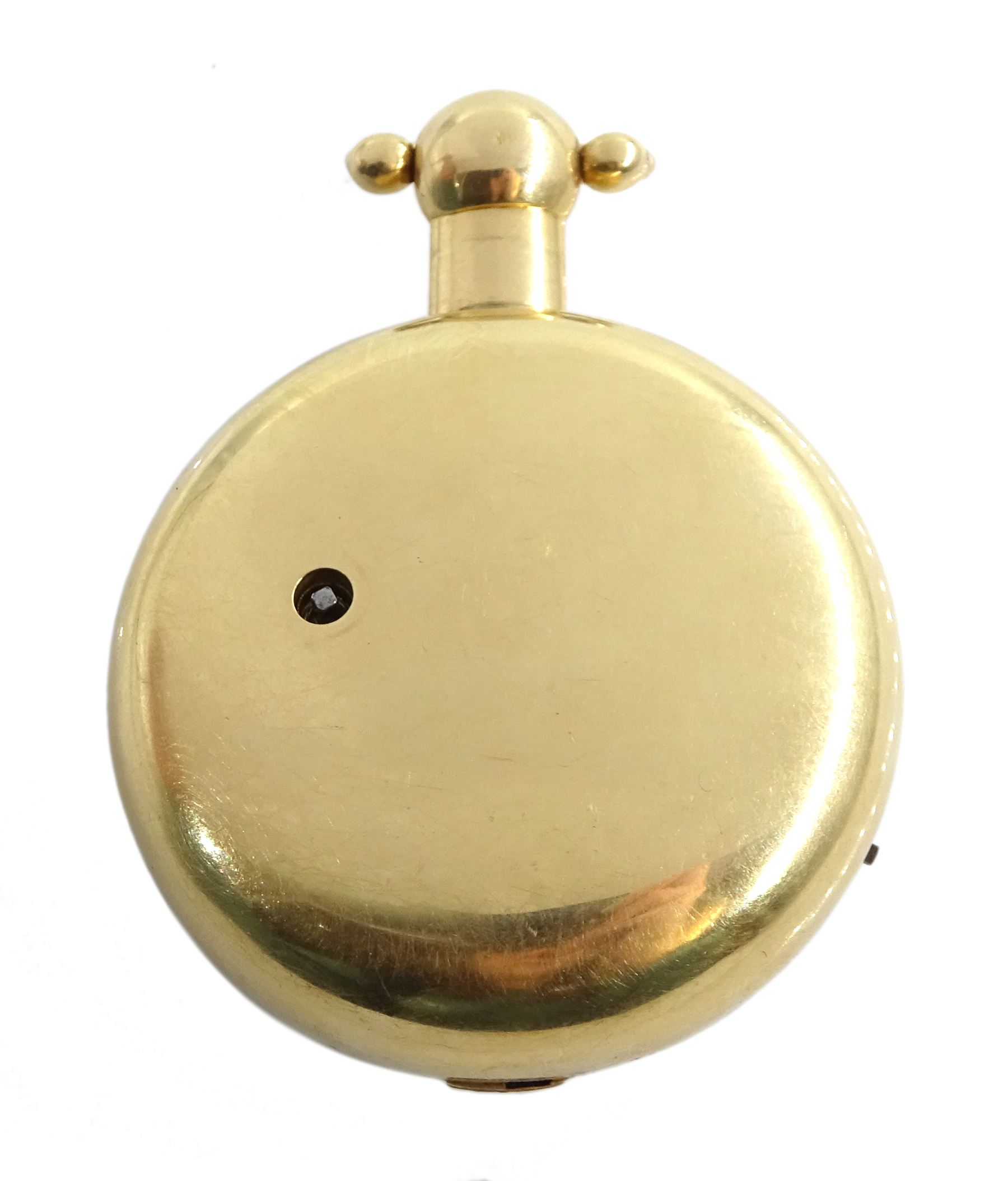 George III 18ct gold pair cased English lever fusee pocket watch by John Bolton - Image 9 of 9