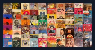 Mostly Jazz vinyl records including 'Van Phillips and His Band 1928-1934'