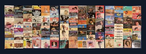 Mostly Jazz vinyl records including 'Stardust Hoagy Carmichael 16 Classics From The Old Music Master