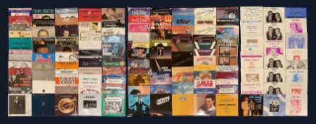 Mostly Jazz vinyl records including 'Tommy Dorsey And His Orchestra Song of India'