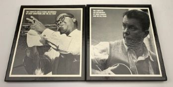 Two limited edition box sets comprising: The Complete Decca Studio Recordings of Louis Armstrong and
