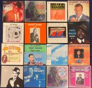 Collection of mostly Jazz and Blues LP box sets including George Formby