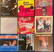 Louis Armstrong & Benny Goodman LP box sets: The Louis Armstrong Legend