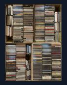 A large collection of mostly Jazz CD's including 'Light Music Classics'