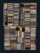 A large collection of mostly Jazz CD's including Billie Holiday