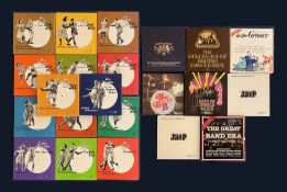 A set of fourteen Time Life Swing Era LP's together with other Jazz LP box sets including Big Bands