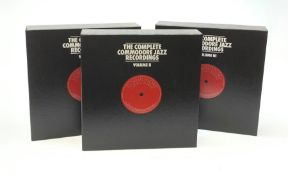 The complete commodore recordings: LP box sets in 3 Volumes