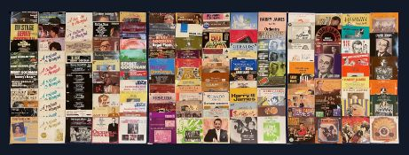 Mostly Jazz vinyl records including 'Benny Goodman Live at Carnegie Hall 40th Anniversary Concert' t