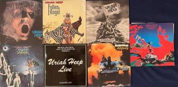 Uriah Heep LP's: Salisbury