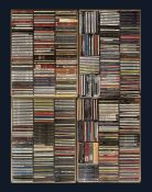 A large collection of mostly Jazz CD's including Bing Crosby