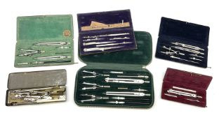 Negretti & Zambra drawing instrument set