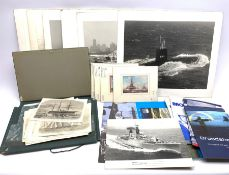Portfolio of over eighty 19th century engravings of shipping/maritime interest cut from the Illustra