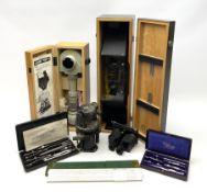 WW2 American Fairchild F-71 binocular magnifying telescope