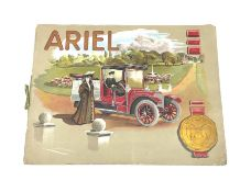 Motoring History - Ariel Silent Motors catalogue 1909 with additional unbound folded page