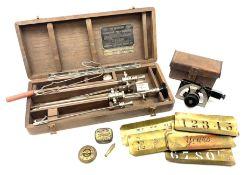 WW2 WRP Mk.5 pocket artillery clinometer No.7006