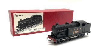 Hornby Dublo - three-rail pre-war Class N2 0-6-2 Tank locomotive No.2690; in modern collector's red