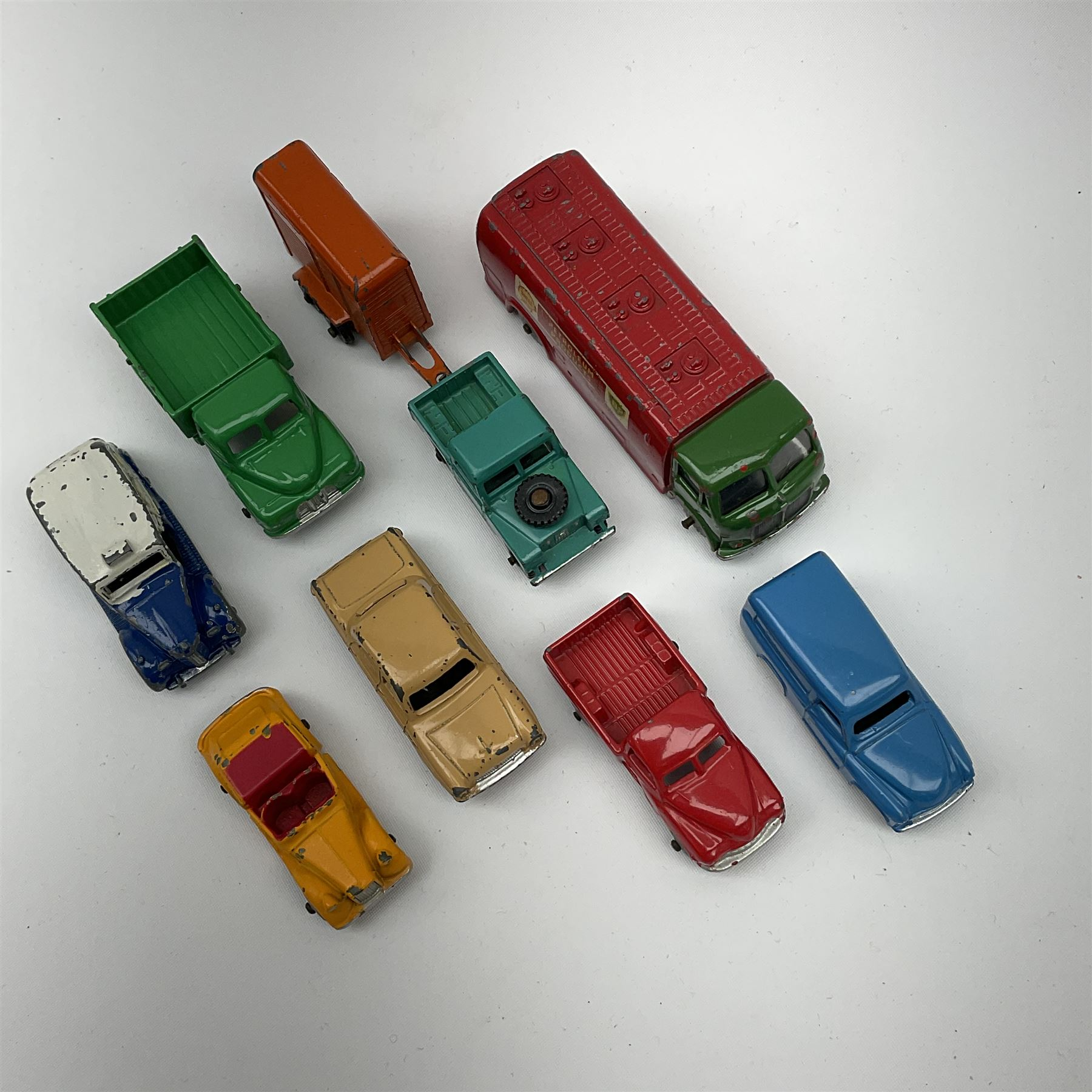 Dublo Dinky - eight unboxed models comprising 061 Ford Prefect - Image 2 of 2