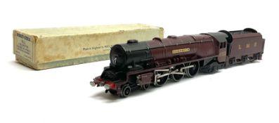 Hornby Dublo - three-rail Duchess Class 4-6-2 locomotive 'Duchess of Atholl' No.6231 with yellow nam