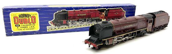 Hornby Dublo - three-rail LMR Duchess Class 4-6-2 locomotive 'City of Liverpool' No.46247 in blue st