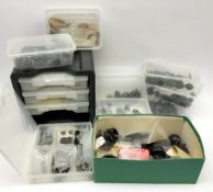 Hornby Dublo etc - quantity of spare parts and accessories including nuts and bolts