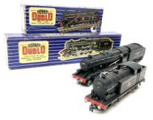 Hornby Dublo - three-rail LMR Class 8F 2-8-0 Freight locomotive No.48158 with tender