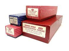 Hornby Dublo - 4620 Breakdown Crane in plain red box with three jacks