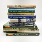 Twelve books of model railway interest including The Hornby Companion Series Vol.1