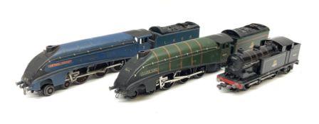 Hornby Dublo - three-rail LNER blue A4 Class 4-6-2 locomotive 'Sir Nigel Gresley' No.7; A4 Class 4-6