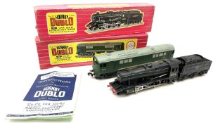 Hornby Dublo - two-rail 2224 Class 8F 2-8-0 locomotive No.48073: and 2233 Met-Vic Co-Bo Diesel Elect