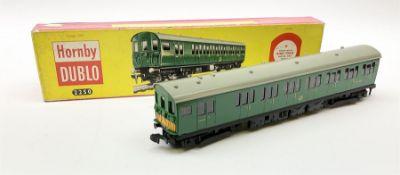 Hornby Dublo - two-rail 2250 Electric Motor Coach Brake/2nd
