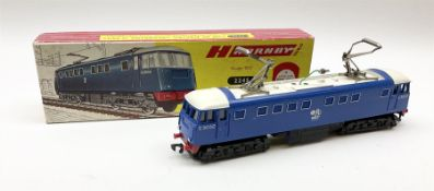 Hornby Dublo - two-rail 2245 3300HP Electric Bo-Bo locomotive with overhead double pantograph No.E30