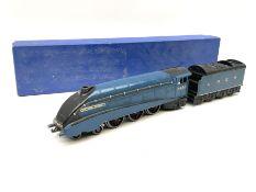 Hornby Dublo - three-rail pre-war A4 Class 4-6-2 locomotive 'Sir Nigel Gresley' No.4498; in modern c