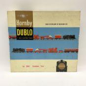 Hornby Dublo - two-rail set 2049 Breakdown Train with Class N2 0-6-2 tank locomotive no.69550