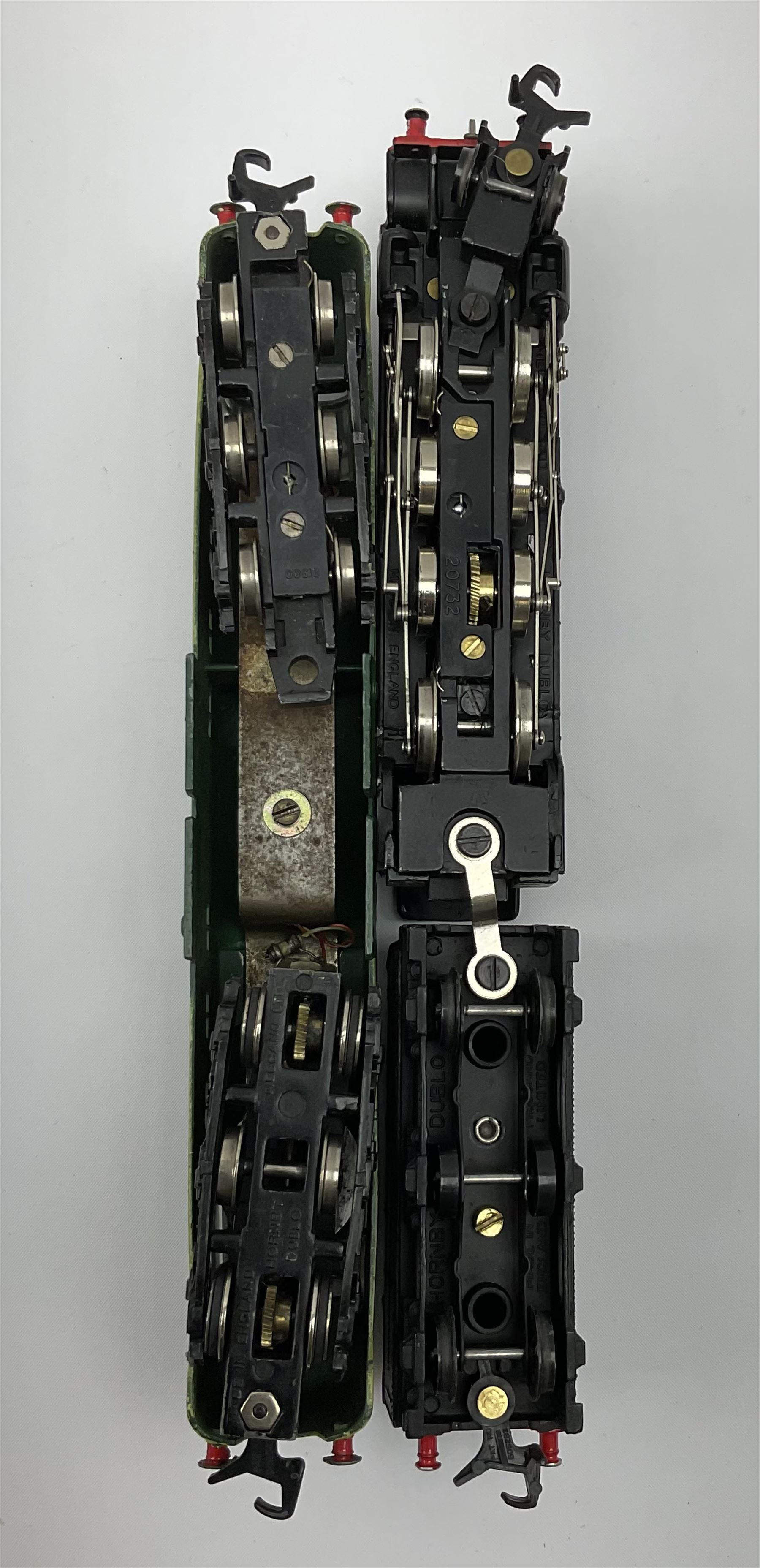 Hornby Dublo - two-rail 2224 Class 8F 2-8-0 locomotive No.48073 with instructions; and 2234 Deltic T - Image 6 of 7