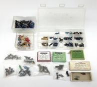 Hornby Dublo/Dinky - over one hundred and thirty die-cast and plastic figures including Station Staf