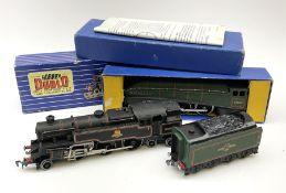 Hornby Dublo - three-rail A4 Class 4-6-2 locomotive 'Mallard' No.60022 with instructions and guarant