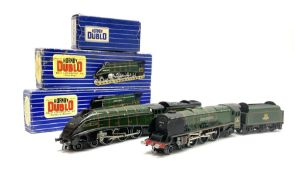 Hornby Dublo - three-rail Duchess Class 4-6-2 locomotive 'Duchess of Montrose' No.46232 with instruc