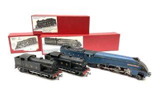 Hornby Dublo - three-rail A4 Class 4-6-2 locomotive 'Sir Nigel Gresley' No.7; LMS Class N2 0-6-2 Ta