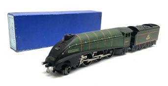 Hornby Dublo - three-rail A4 Class 4-6-2 locomotive 'Mallard' No.60022 in later mid-blue box with ye