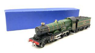 Hornby Dublo - three-rail B.R. (W.R.) Castle Class 4-6-0 locomotive 'Bristol Castle' No.7013 with te