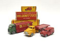 Dublo Dinky - three boxed models comprising 068 Royal Mail Van