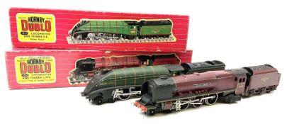 Hornby Dublo - two-rail 2226 Duchess Class 4-6-2 locomotive 'City of London' No.46245 with instructi